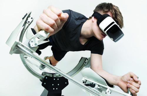 VR technology for gymming
