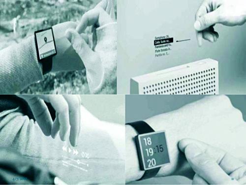 New Input Technology: Project Soli Sensor
