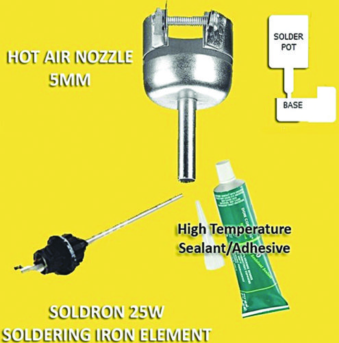 Nozzle and other accessories