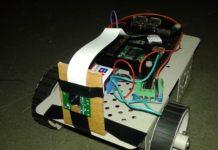 robot controlled via web server using Raspberry pi 2