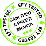 efy tested sani theo and preeti bhakta