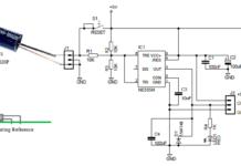 midget vibration detector circuit