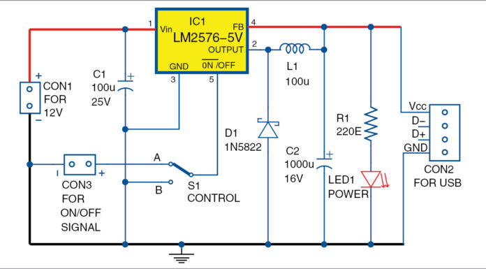 USB power circuit