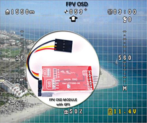 FPV on-screen display