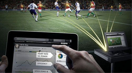Electronic monitoring in sports