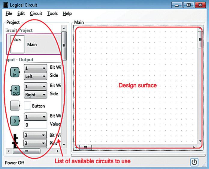 LogicCircuit interface