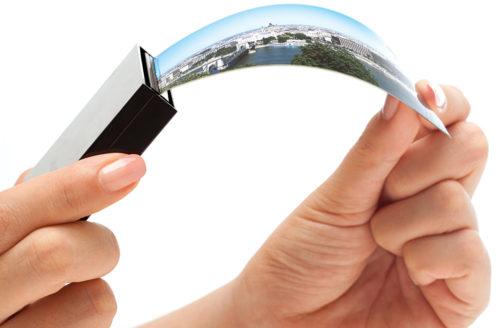 Flexible AMOLED display