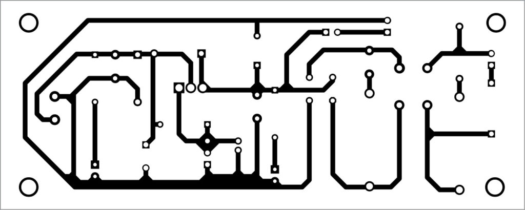 PCB layout of adjustable power supply