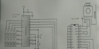 Circuit Diagram for Transmitter