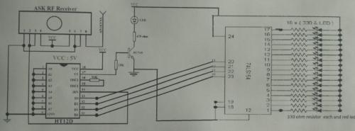 Circuit Diagram for Receiver