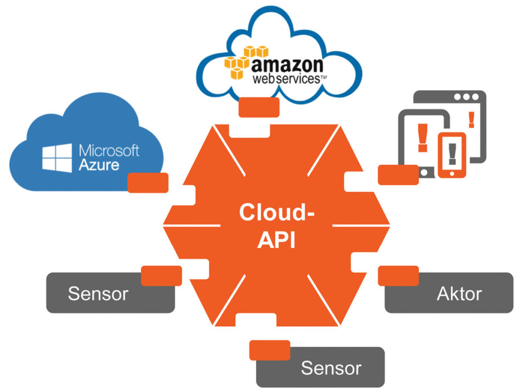 The cloud API environment