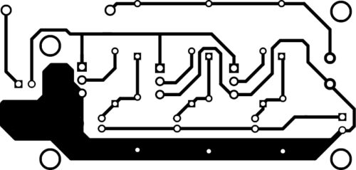 PCB Layout of Li-Fi Dongle