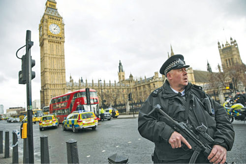 London saw three terror attacks this year, which led to the need for geofencing