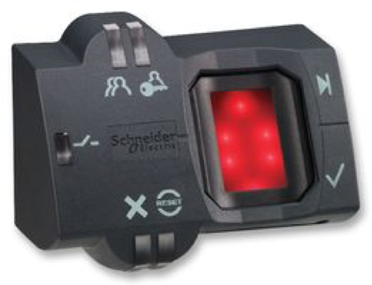 XB5S2B2M12 Biometric Switch by Schneider Electric | Switches example