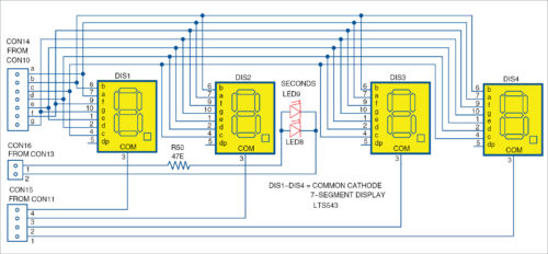 7-segment display unit