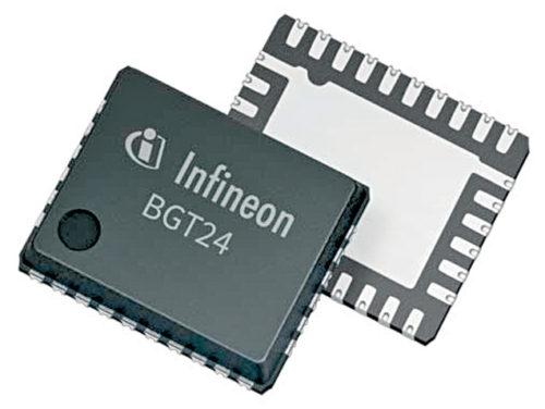 BGT24MTR11, a 24GHz chip for radar front-end application