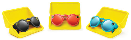 Spectacles that record video (Courtesy: Snap Inc.)