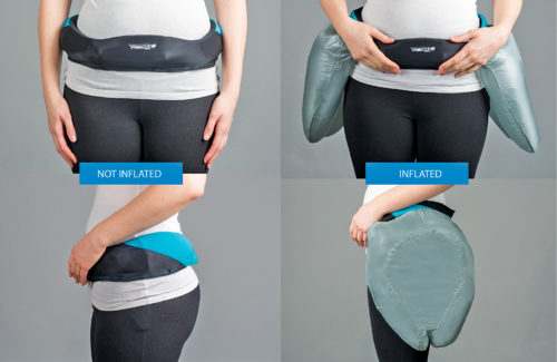 These hip airbags protect your bones from the impact of falls (Source: Helite)