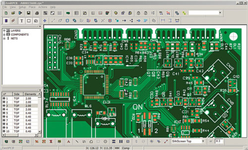 A complete layout on ZenitPCB