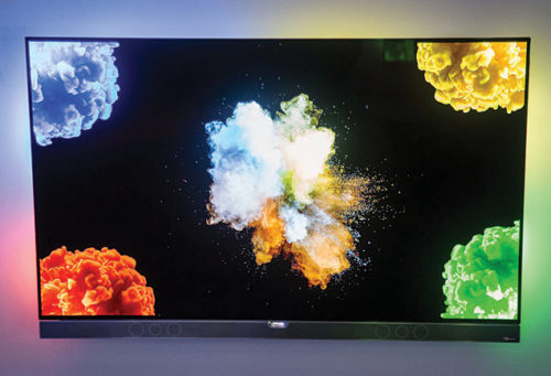 An OLED TV set