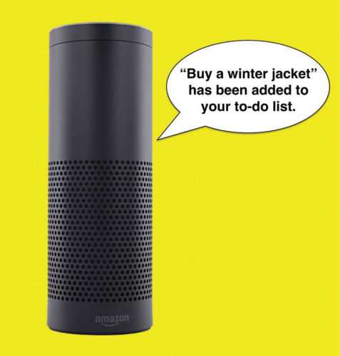 Amazon Alexa virtual assistants