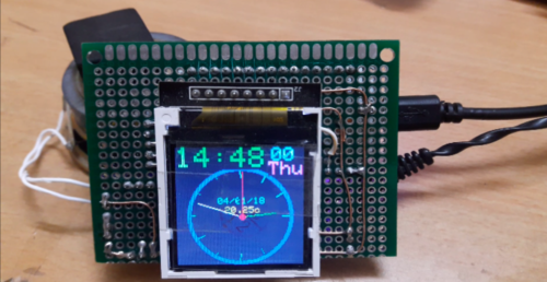 ESP32 Talking Clock Prototype