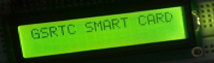 GSRTC Smart Card Display