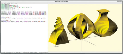 Compiling a design using OpenSCAD