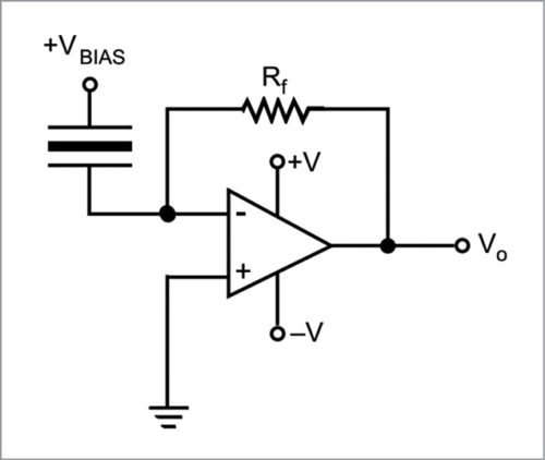 Current mode operation of pyroelectric sensor