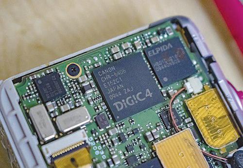 DIGIC 4 image processor (Credit: https://en.wikipedia.org)