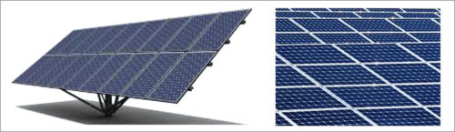 Different package styles of solar cells