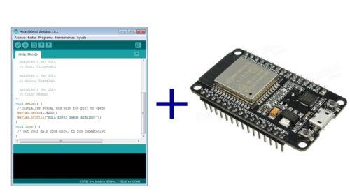 Arduino IDE + ESP32 Support
