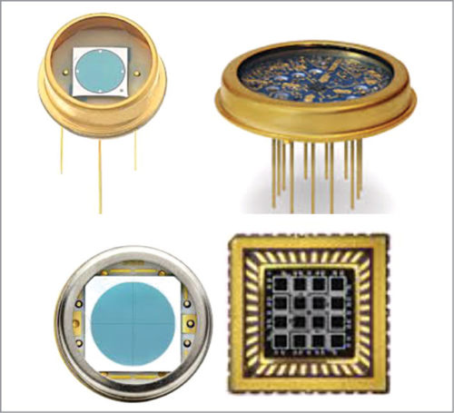 PIN photodiodes in different configurations and packages