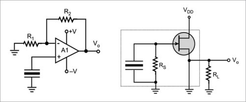 Voltage mode operation of a pyroelectric sensor