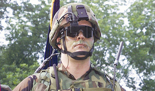 Wearable head-mounted displays (Credit: www.darpa.mil)