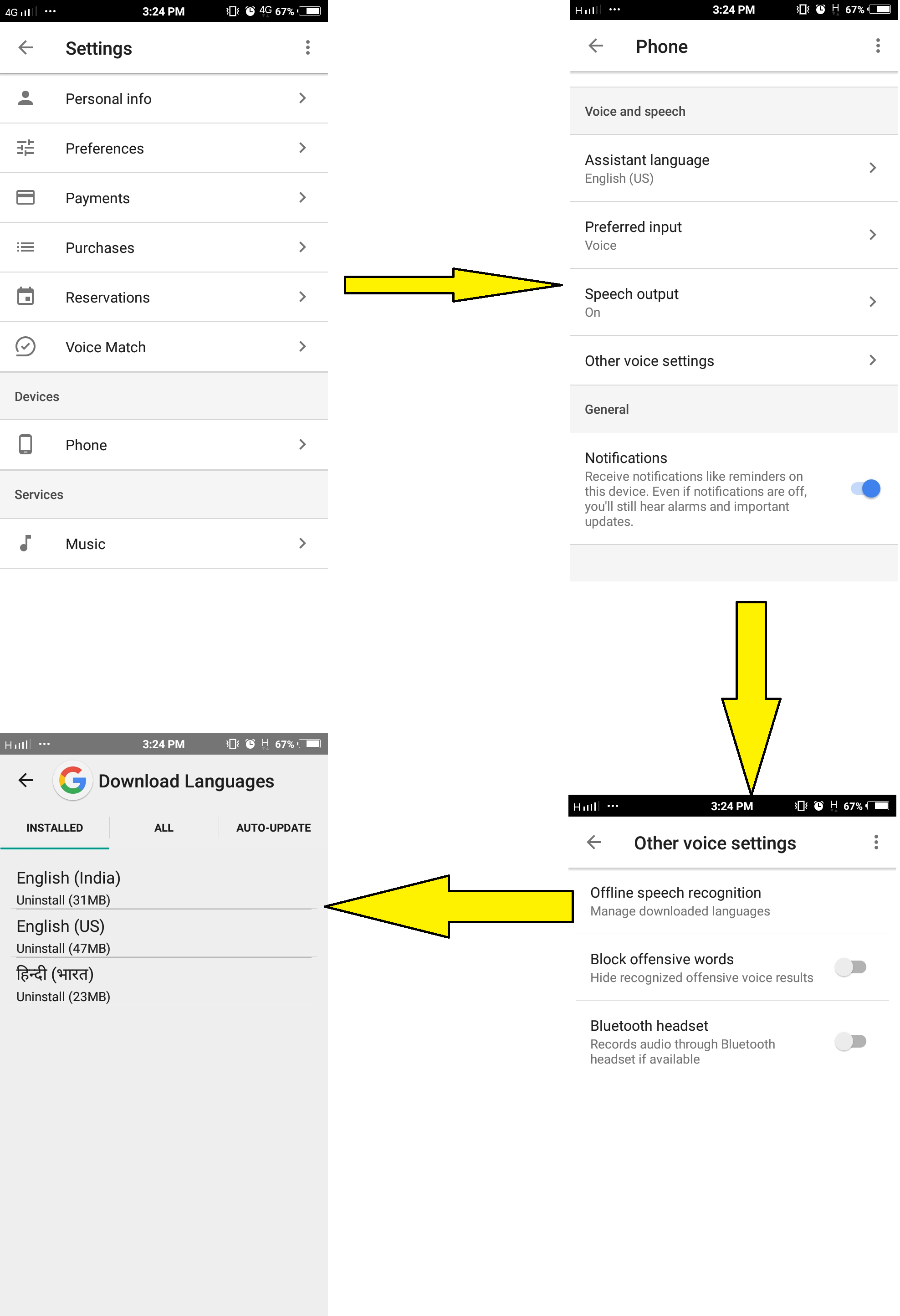 Google account Set-up for IoT Home Automation