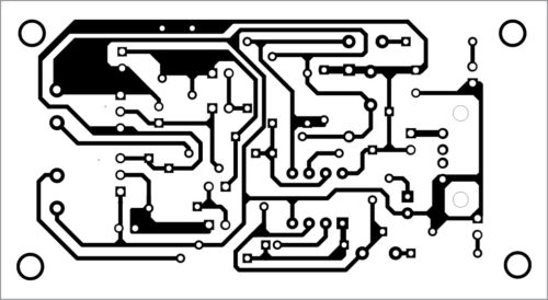 PCB layout for dual audio level shifter and buffer