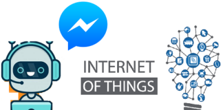 Chatbot with IoT