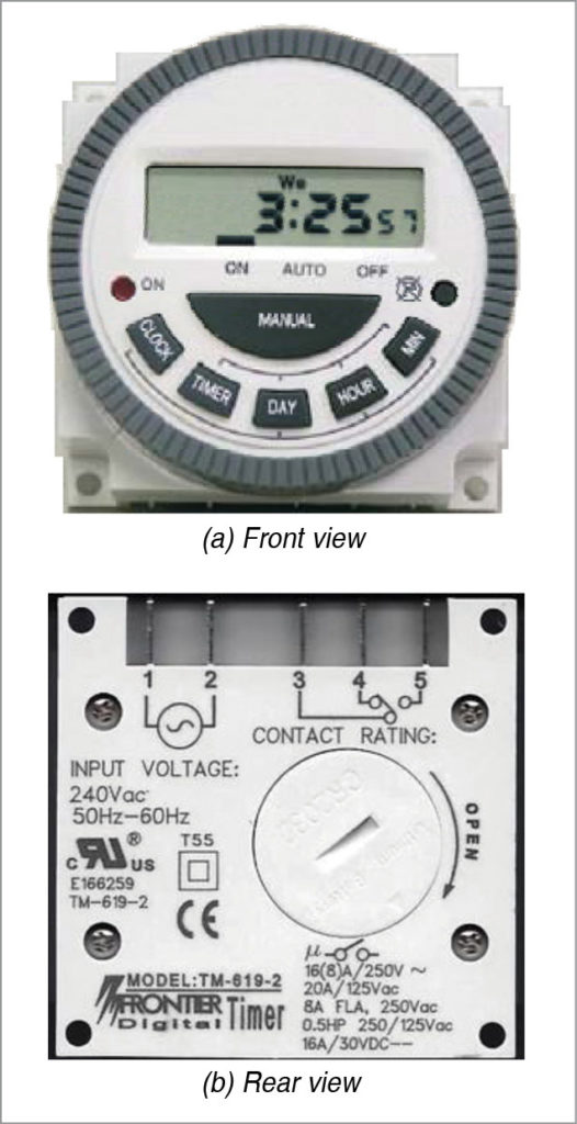 Digital timer programmable time switch TM-619