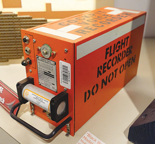 A typical black box in aircraft (Credit: https://commons.wikimedia.org)