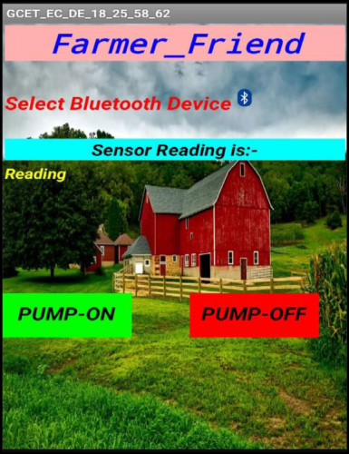 Android Application for Smart Irrigation System