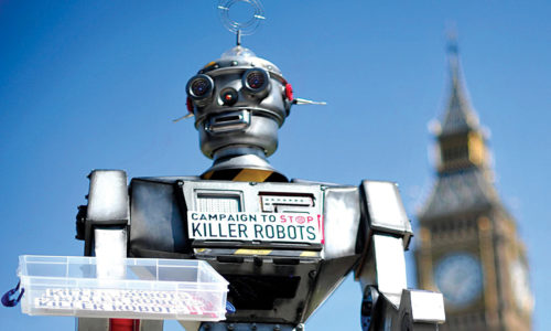 Campaign to stop killer robots (Credit: www.theguardian.com)