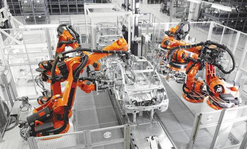 Kuka innovation for automotive industry