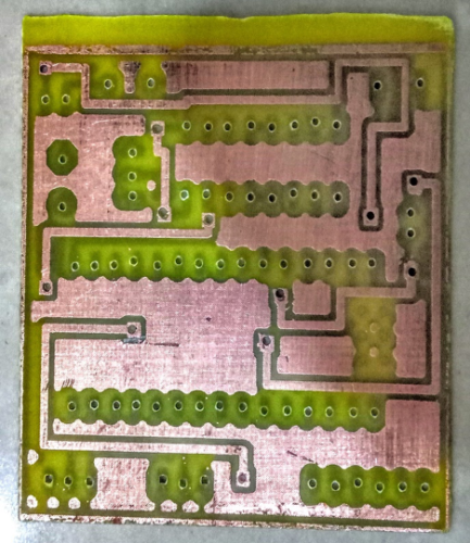 Top Layer of PCB Bottom Layer of PCB