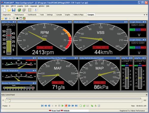 PCMScan automotive software