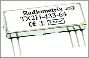 TX2H UHF transmitter module