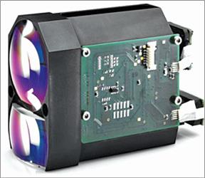 Compact laser rangefinder module of DLEM family from Jenoptik