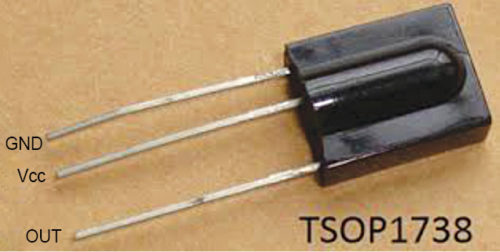 IR sensor TSOP1738