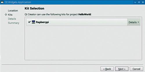 Select Raspberry Pi kit