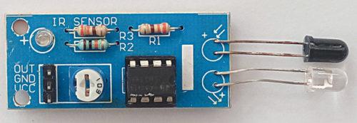 IR proximity module